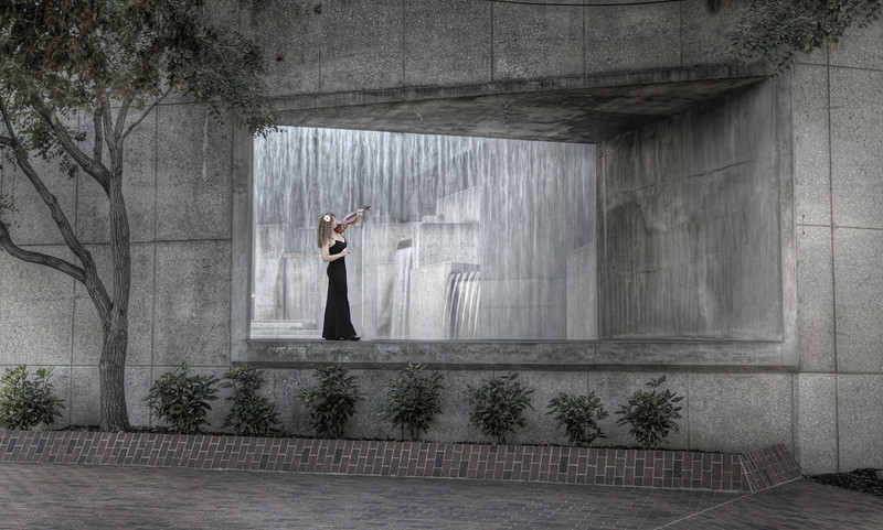 """""""Fountain Overture""""<br /> 3rd Place - Projected Images<br /> Ken Boyd"""
