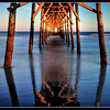 """Sunset Beach NC""<br /> 1st Place - Projected Images<br /> Buddy Birdwell"