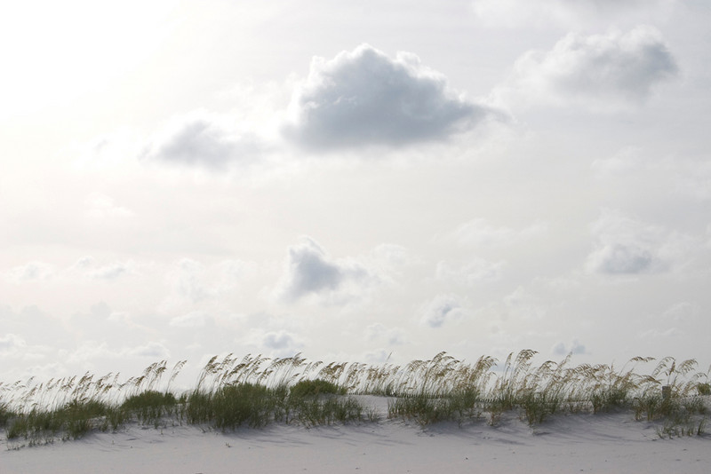 """""""Clouds at the Beach""""<br /> Honorable Mention - Projected Images<br /> Robert Caldwell"""