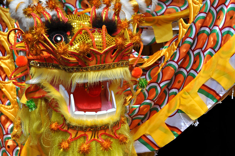 """Chinese Dragon""<br /> 1st Place - Digital Projection<br /> Brenda Miller"