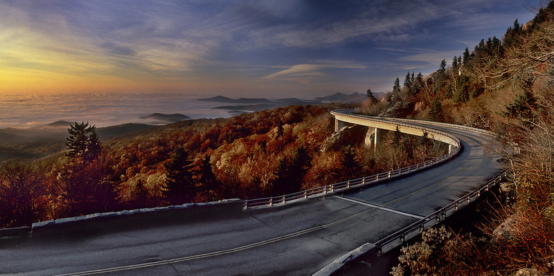 """Blue Ridge Parkway""<br /> 2nd Place - Projected Images<br /> Ken Gables"