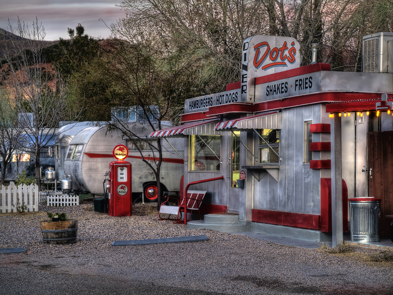 """Dot's Diner""<br /> 2nd Place - Digital Projection<br /> Ken Boyd"