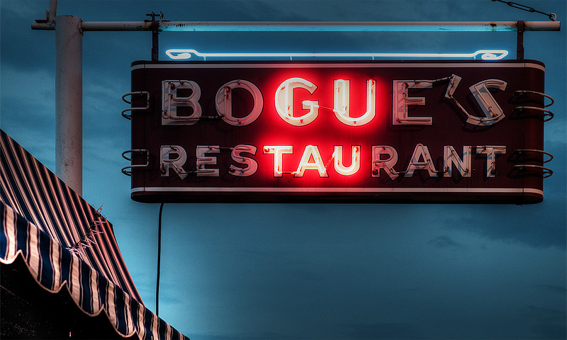 """""""Bogue's""""<br /> Honorable Mention - Digital Projection<br /> Mike Neilson"""
