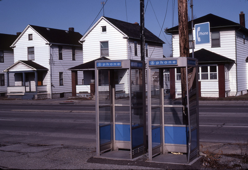 """Phone Booths""<br /> Honorable Mention - Digital Projection<br /> Ken Boyd"