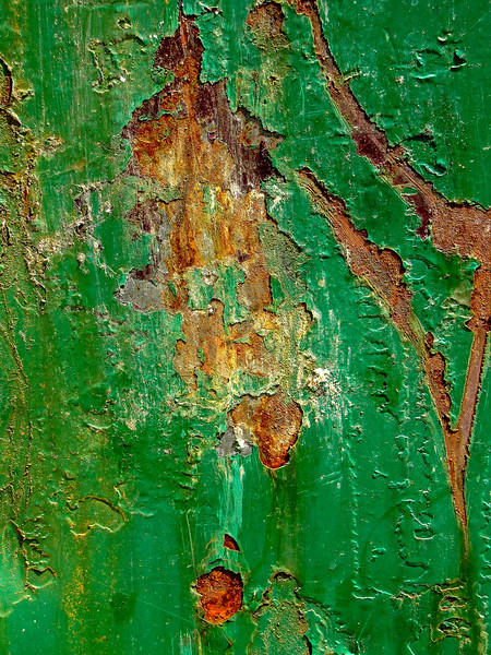 """Peeling Paint""<br /> 3rd Place - Digital Projection<br /> Sherry Grunfeld"