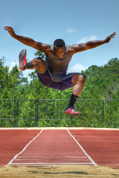 """Long Jumper""<br /> 1st Place - Projected Images<br /> Terry Yarbrough"