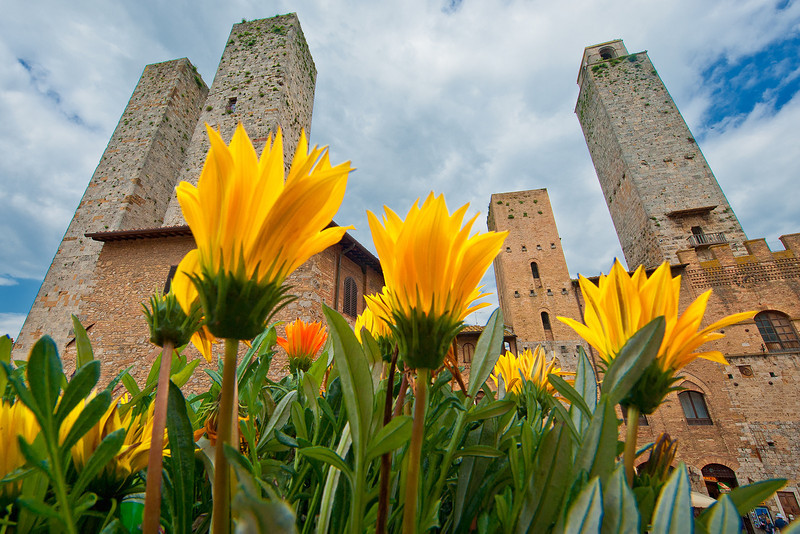 """""""San Gimignano""""<br /> Honorable Mention - Projected Images<br /> Steve Grunfeld"""