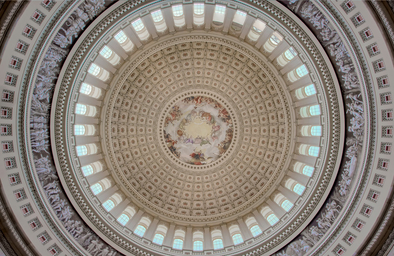"""""""Capital Dome""""<br /> 3rd Place - Color Prints<br /> Kevin Boyd"""