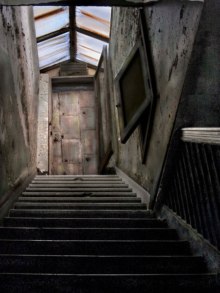 """""""Lyric Theatre Stairway""""<br /> 1st Place - Color Prints<br /> Ken Boyd"""