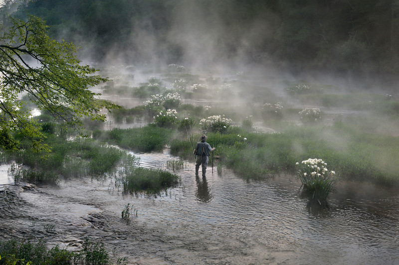 """""""Cool Morning On The Cahaba""""<br /> Honorable Mention - Projected Images<br /> Ken Gables"""