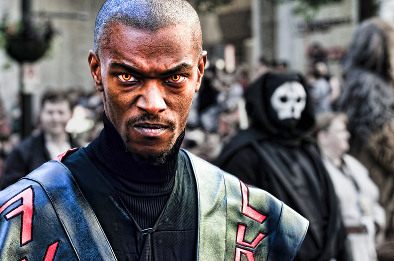 """""""Sith Lord Malice""""<br /> Honorable Mention - Projected Images<br /> Delos Johnson"""