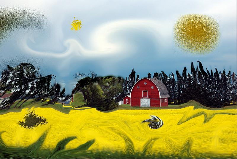 Red Barn<br /> 1st Place - Alternative Prints<br /> Doug Stocks