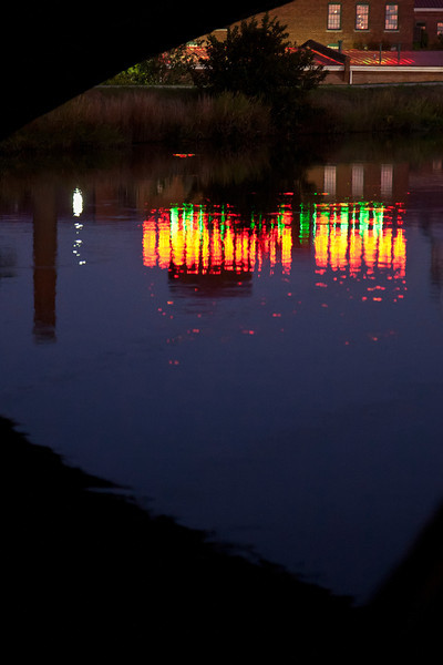 """""""Neon Reflections""""<br /> Honorable Mention - Digital Projection<br /> Ron Clemmons"""