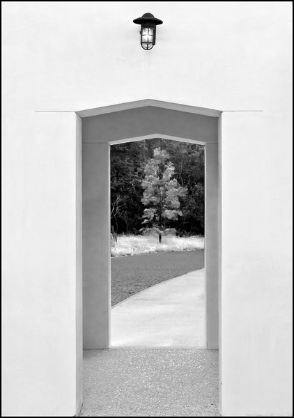 """Entree""<br /> 3rd Place - Black & White Prints<br /> D.J. Boyd"