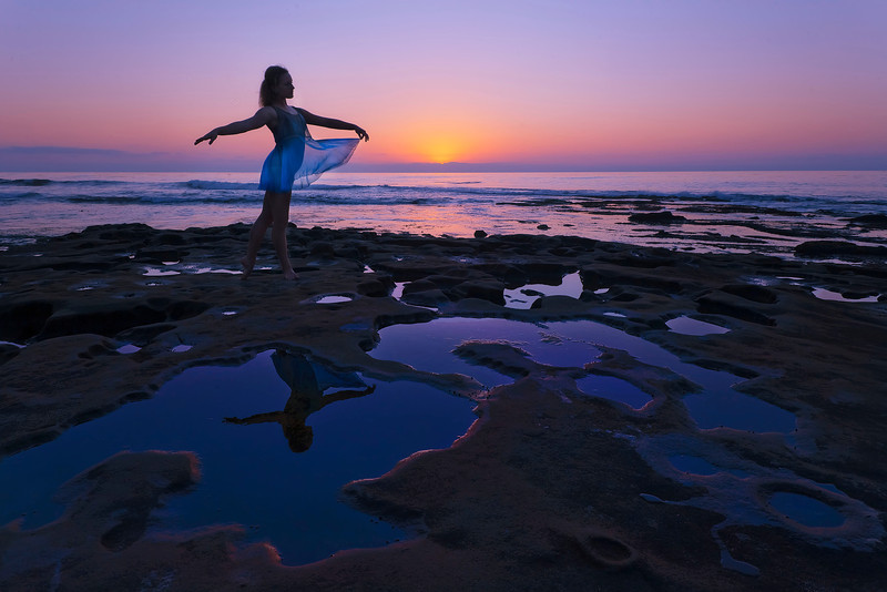 """Sun Dancer""<br /> Honorable Mention - Digital Projection<br /> Ann Strickland"