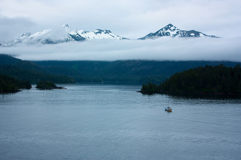 """Somewhere In Alaska""<br /> Honorable Mention - Digital Projection<br /> David Paden"