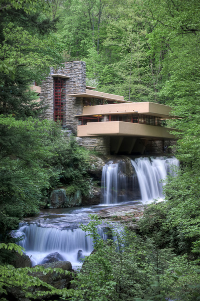 """""""Falling Water""""<br /> Honorable Mention - Digital Projection<br /> Kevin Boyd"""
