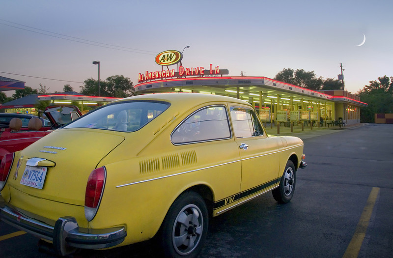 """""""Night At The Drive-In""""<br /> 2nd Place - Color Prints<br /> Kevin Boyd"""
