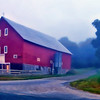 """Barn Bath New Hampshire""<br /> Honorable Mention - Projected Images<br /> Delos Johnson"