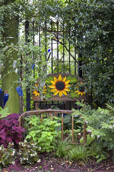 """""""Sunflower Bed""""<br /> HM - Color Prints<br /> D. J. Boyd"""