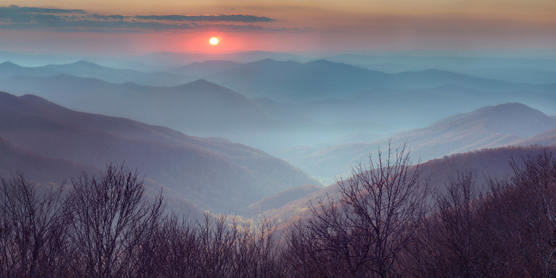 """""""Cherohala Skyway""""<br /> Honorable Mention - Digital Projection<br /> Ken Gables"""