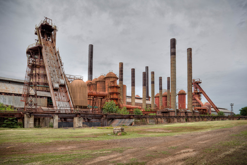 """""""Sloss Furnaces""""<br /> 3rd Place - Color Prints<br /> Kevin Boyd"""