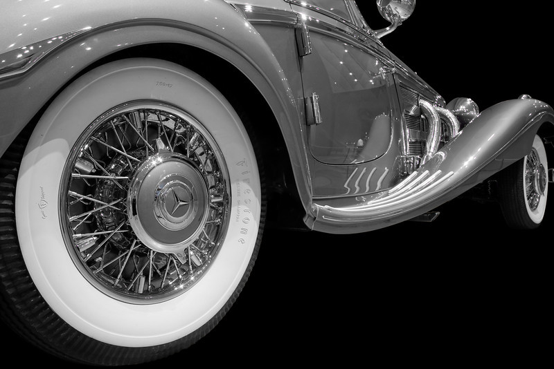 """Classic Mercedes""<br /> 2nd Place - Digital Projection<br /> Kevin Boyd"