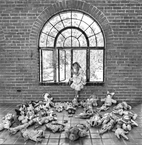 """""""Doll Heaven""""<br /> 1st Place - Black & White Prints<br /> Ken Boyd"""