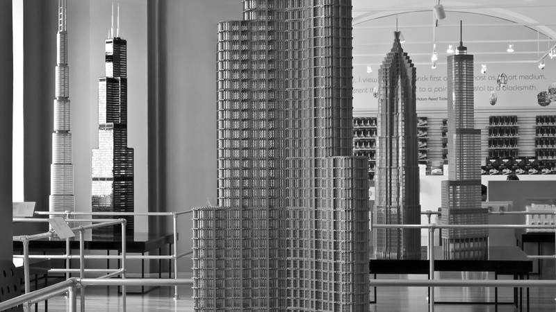 """""""Lego Skyscrapers""""<br /> Honorable Mention - Digital Projection<br /> D.J. Boyd"""
