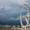 """London Eye Of The Storm""<br /> Honorable Mention - Color Prints<br /> Ron Clemmons"