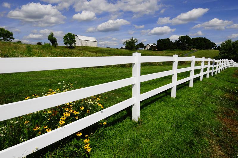 """Kansas Farm""<br /> Honorable Mention - Digital Projection<br /> Charlie Stewart"