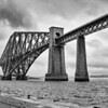 """Firth of Forth Rail Bridge""<br /> Honorable Mention - Black & White Prints<br /> Ron Clemmons"