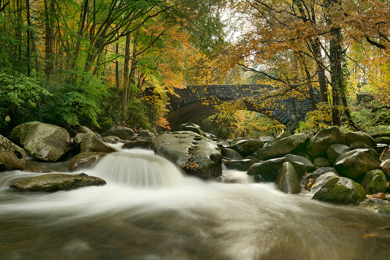 """""""West Prong Of The Little Pigeon River""""<br /> Honorable Mention - Digital Projection<br /> Ken Gables"""