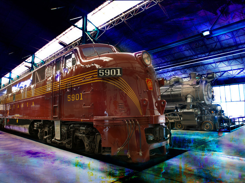 """Pennsylvania Railroad Station""<br /> Honorable Mention - Digital Projection<br /> Ken Boyd"