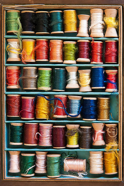 """""""Palette Of Threads""""<br /> 3rd Place Color Prints<br /> Ron Clemmons"""