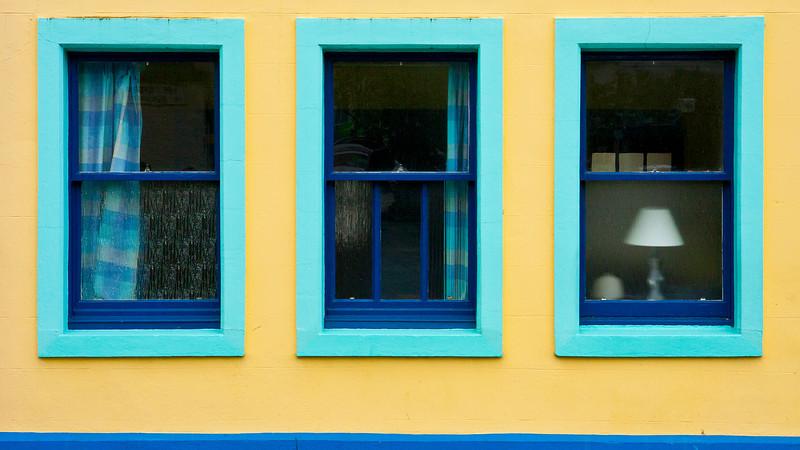 """Blue Windows""<br /> 2nd Place - Color Prints<br /> Ron Clemmons"