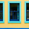 """Blue Windows""<br /> 2nd Place - Color Prints<br /> Ron Clemmons"