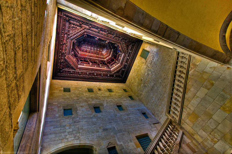 """""""Ornate Ceiling""""<br /> Honorable Mention - Digital Projection <br /> Gary Ricketts"""