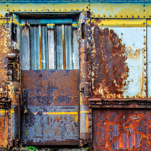 """""""Rail Yard Relic""""<br /> Honorable Mention - Digital Projection <br /> Tim Stacks"""