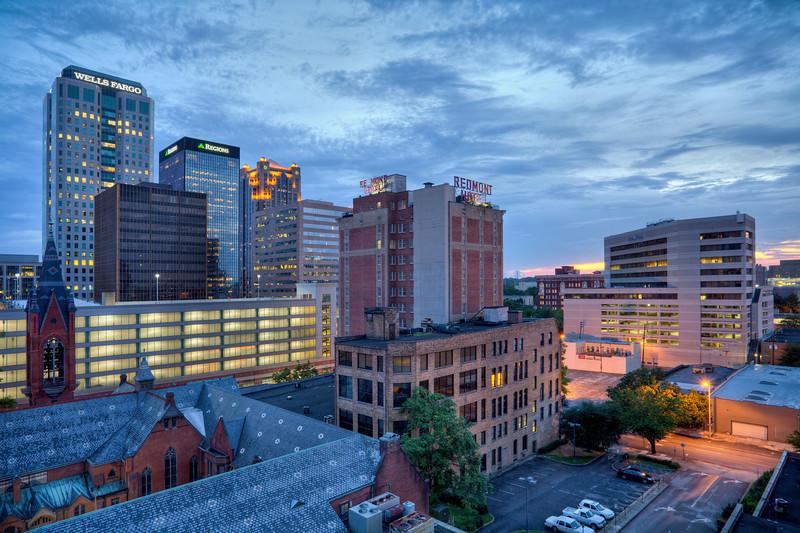 """Birmingham Skyline""<br /> Honorable Mention - Digital Projection<br /> Kevin Boyd"