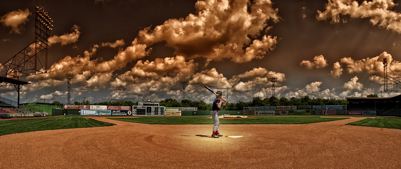 """""""One Day Baseball""""<br /> 1st Place - Color Prints<br /> Ira Lewis"""