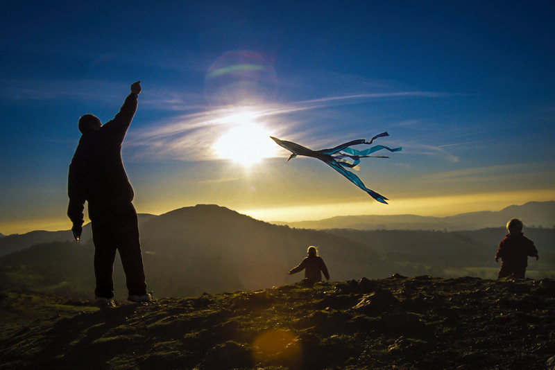 """Kite""<br /> 3rd Place - Digital Projection<br /> Delos Johnson"