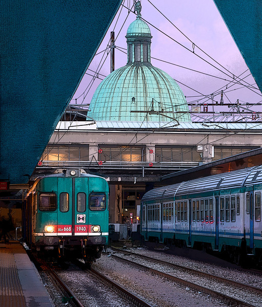 """Venice Station""<br /> Honorable Mention - Digital Projection<br /> Ken Boyd"