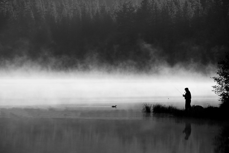 """Retirement""<br /> 2nd Place - Black & White Prints<br /> Graham Bostic"