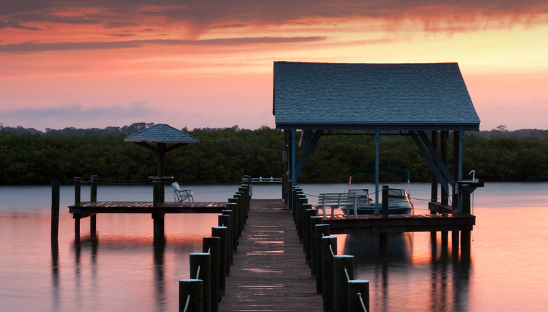 Ponce Inlet Dock