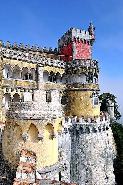 Castle In Sintra (Portugal)