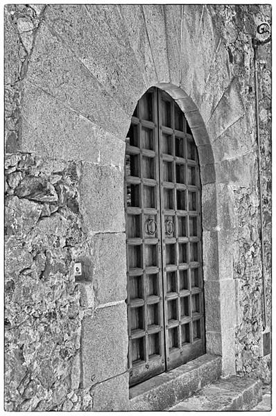 Unmarked Door