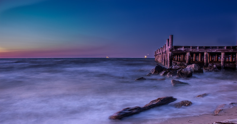 Long Exposure Pier