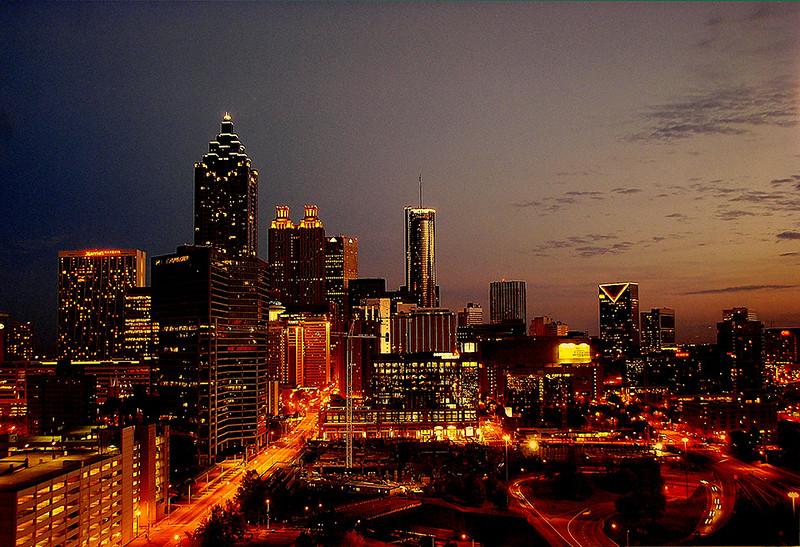 Atlanta at Sunset