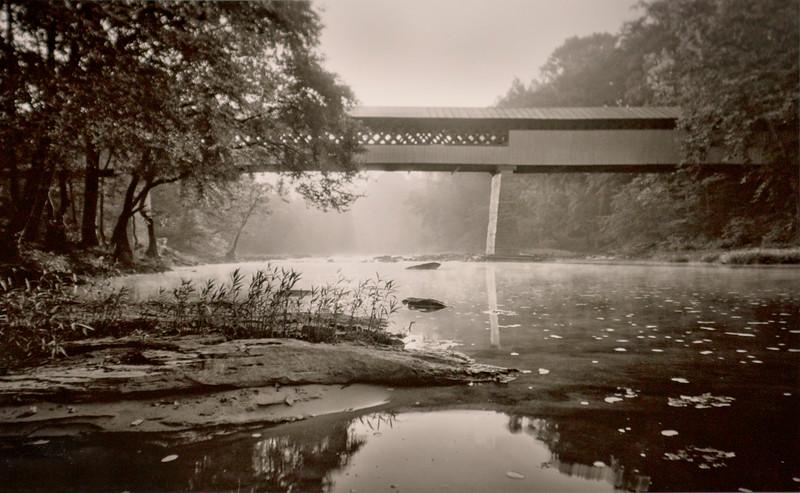 Sunrise at Swann Bridge